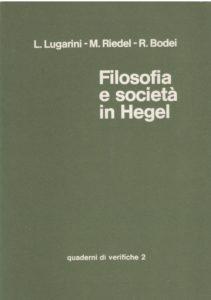 Filosofia e società in Hegel