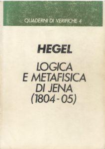 Logica e metafisica di Jena (1804-1805)