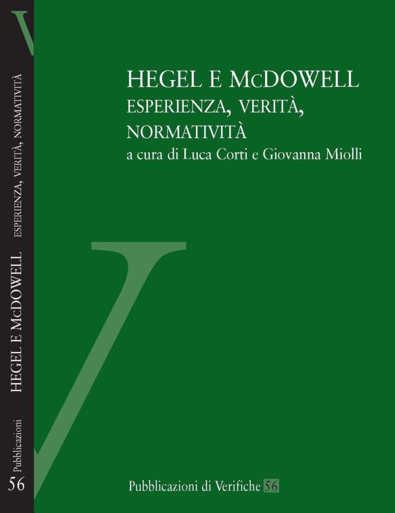 Hegel e McDowell. Esperienza, verità, normatività